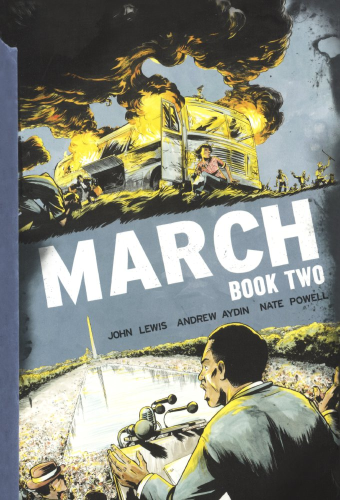 Download March: Book Two (Turtleback School & Library Binding Edition) PDF