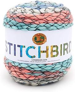 Lion Brand Yarn Stitchbird Yarn, Hummingbird