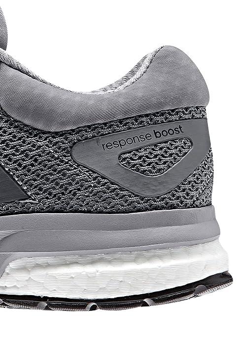 buy online 7148e 75cef Adidas Response Boost Uomo Sneakers, Grigio (Grau), UK 7   EUR 40 2 3   US  7,5   CM 25,5  Amazon.it  Scarpe e borse