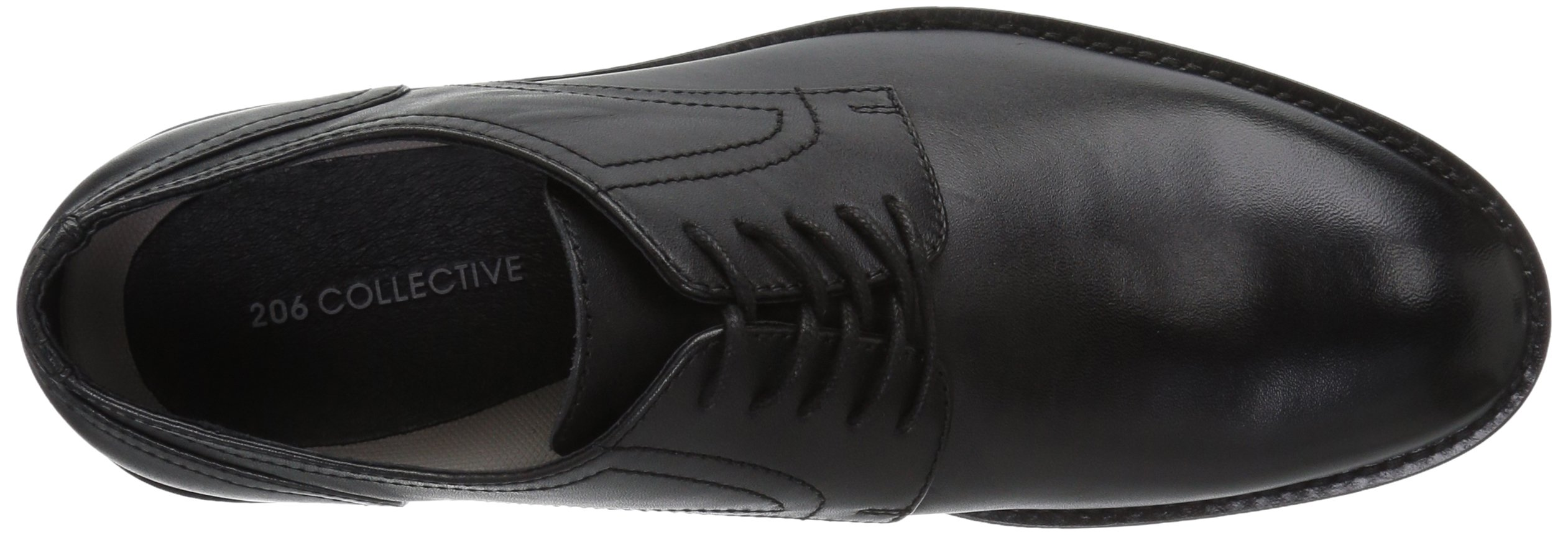 206 Collective Men's Concord Plain-Toe Oxford Shoe, Black, 13 2E US by 206 Collective (Image #8)
