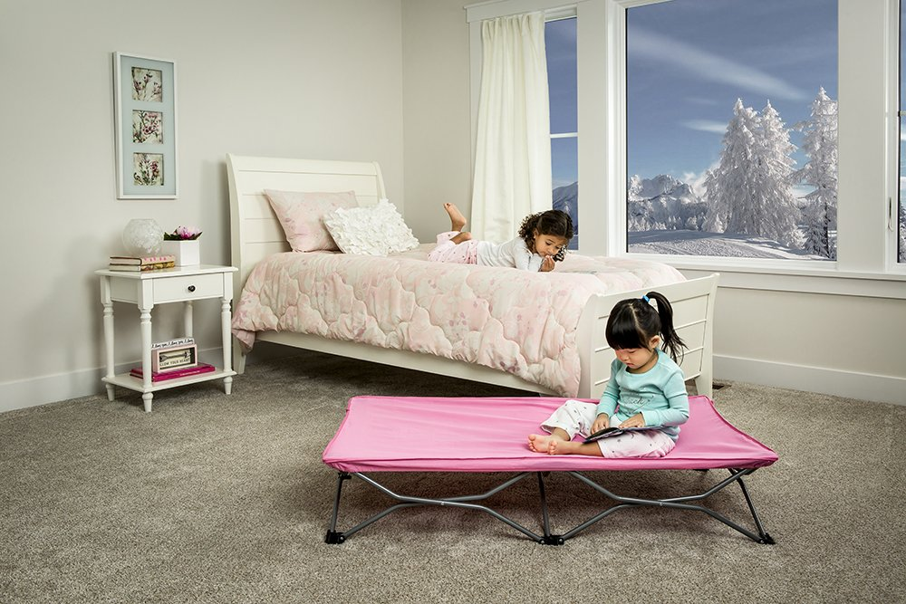 Regalo My Cot Portable Toddler Bed Pink Amazoncouk Baby