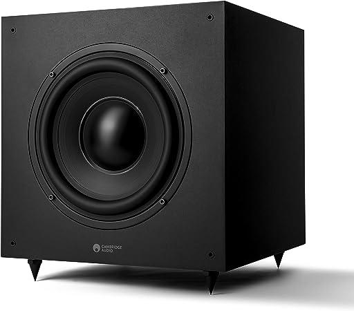 Cambridge Audio Sx 120 Subwoofer Lautsprecher Für Heimkino Soundsystem Und Hifi Anlage Tiefer Kräftiger Bass Mit Ebenmäßigen Frequenzgang 230 V Gb Eu Mattschwarz Audio Hifi