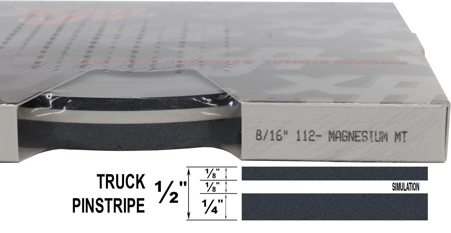 "Auto Truck Customizing Dual Pinstripe 8//16 x 150 - 099-Gold Metallic 1//4/"" Stripe, 1//8 Gap, then 1//8/"" Stripe Universal TFX 0008099"