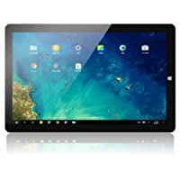 CHUWI HI10 Pro Tablet PC DE 10.1 Pulgadas Tablet Convertible 2 in1 FHD Pantalla Android 5.1&Windows 10 4GB RAM + 64GB ROM Quad Core, 1.44Ghz hasta 1.84 GHz 6500mAh,WiFi, Doble Cámara 2.0MP Negro