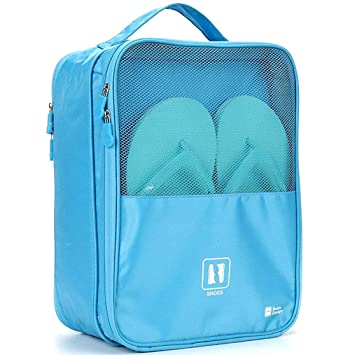 3e612d068e97 Piesome Waterproof Travelling Shoe Storage Bag Footwear Organiser Pouch  Portable Shoes Storage Bag Shoes Bag for Travel for Men and Women ...