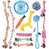 Pacific Pups Products supporting pacificpuprescue.com dog rope toys for aggressive chewers-set of 11 nearly indestructible do