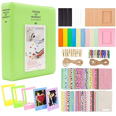 Amazon.com: RONSHIN - Álbum de fotos de papel para cámara ...