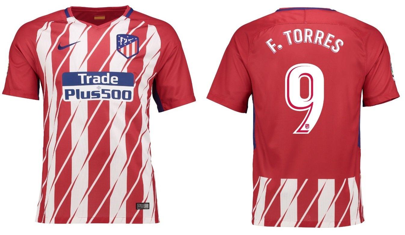 Trikot Kinder Atletico Madrid 2017-2018 Home - Torres 9