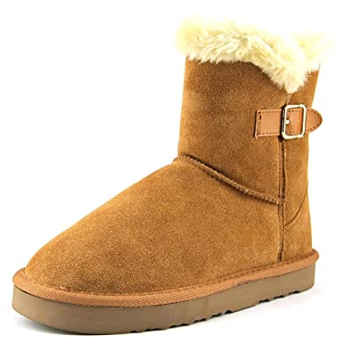 7536b08b7 Style & Co. Womens Tiny 2 Suede Closed Toe Ankle Cold Weather Boots