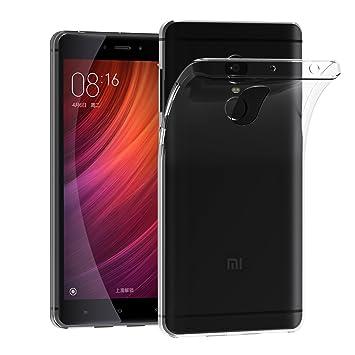 iVoler Funda Carcasa Gel Transparente para Xiaomi Redmi Note 4 / Xiaomi Redmi Note 4X, Ultra Fina 0,33mm, Silicona TPU de Alta Resistencia y ...
