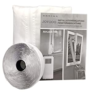 JOYOOO AirLock Window Seal for Mobile Air-Conditioning Units