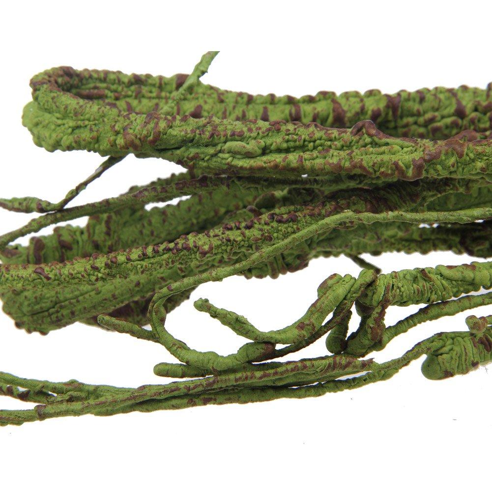 Emours - Rama flexible de decoración para terrario de lagarto, rana, serpientes y más reptiles, pequeño, 100 cm de largo: Amazon.es: Productos para mascotas