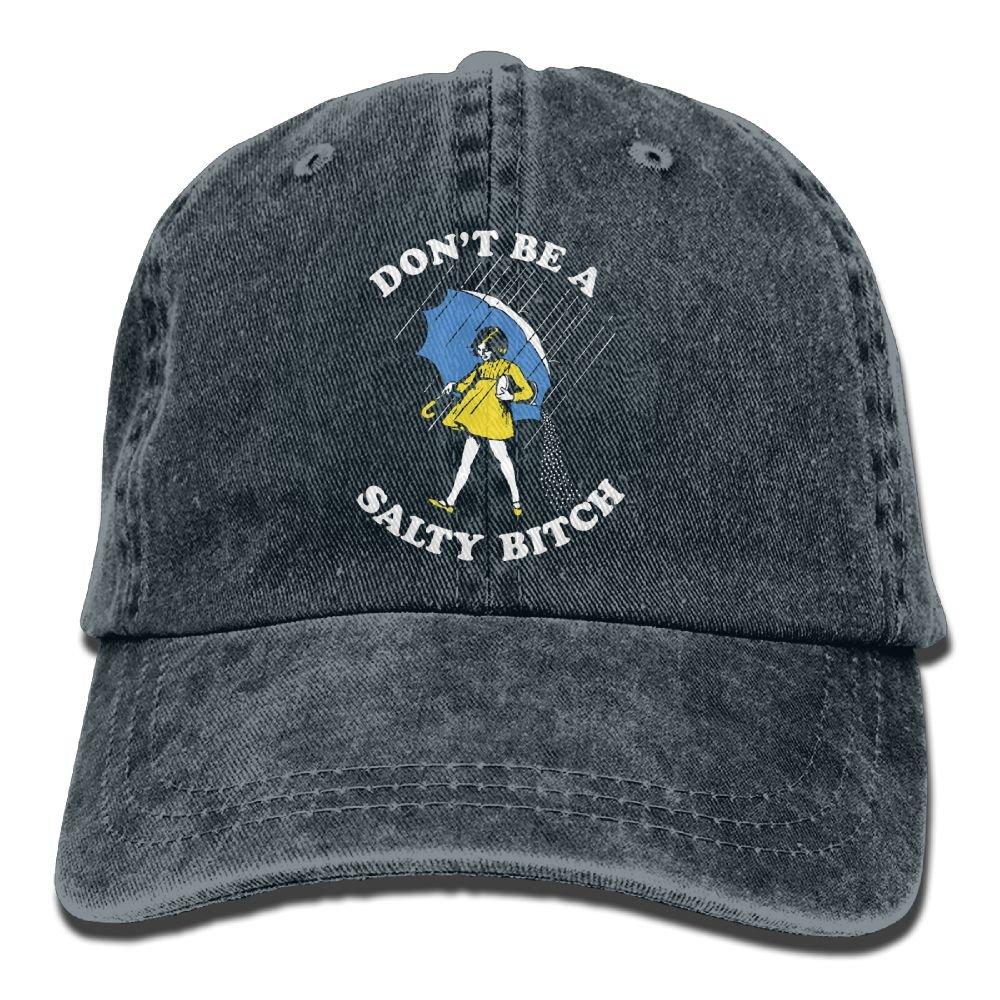 Trableade Salty Bitch Adult Sport Adjustable Structured Baseball Cowboy Hat