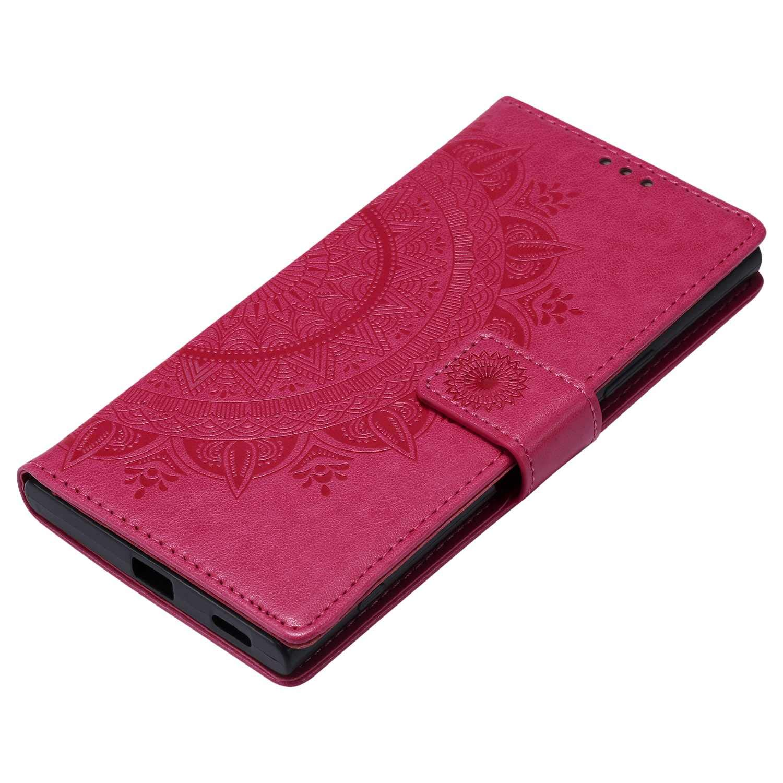 CAXPRO/® Brieftasche Leder H/ülle Magnetischen Sto/ßfest Schutzh/ülle Gold Sony Xperia XA1 Ultra H/ülle Klapp St/änder Ledertasche kompatibel mit Sony Xperia XA1 Ultra