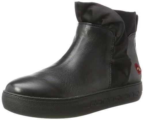 Fornarina Yuma amazon-shoes neri Disfrutar De Precio Barato XJVsjGoW