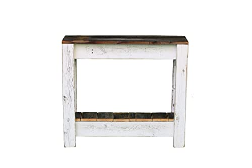White Combo Accent Table