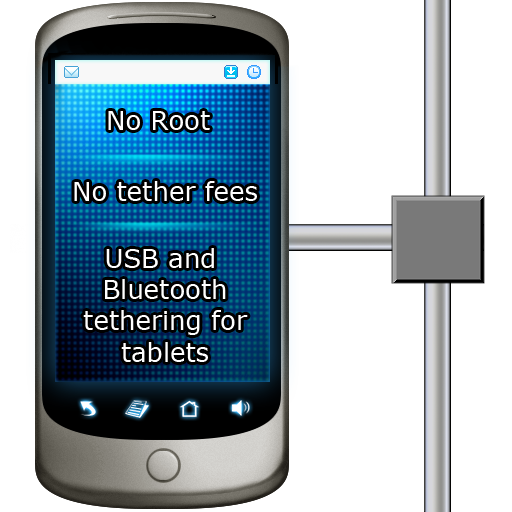 EasyTether Tablet (The Best Tethering App For Android)