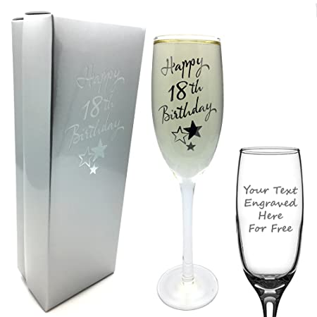 e0708c164ebe7 ukgiftstoreonline Personalised Engraved 18th Birthday Champagne ...