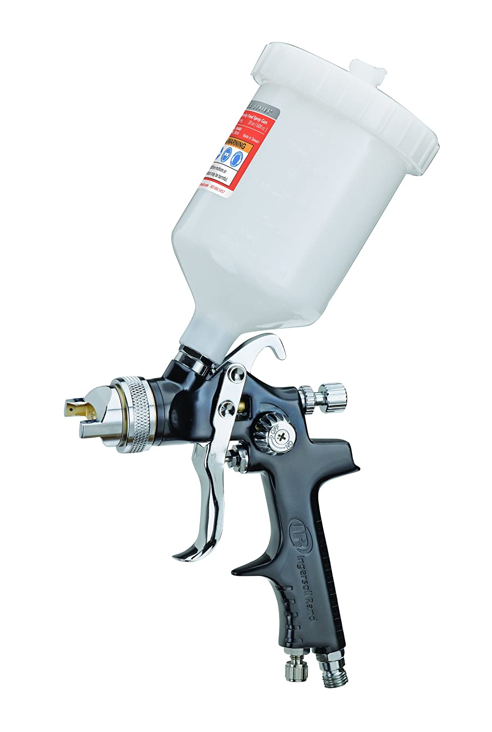 Delightful Paint Spray Tools Part - 9: Amazon.com: Ingersoll Rand 210G Edge Series Gravity Feed Spray Gun, Black:  Home Improvement
