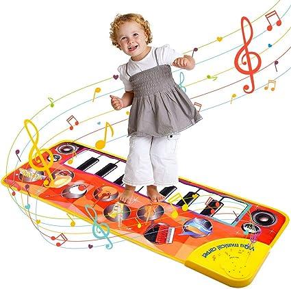 Tapete para beb/és con m/úsica y luces tapete para beb/és y gimnasio equipo de juguetes para beb/és