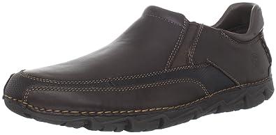 489bc9df5d3f0 Rockport Men's Lite Dark Brown Slip On K72220 11 UK