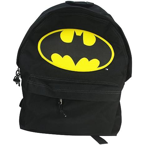 Dc Comics Batman Batsignal Mochilla Bolso Escolar Casual