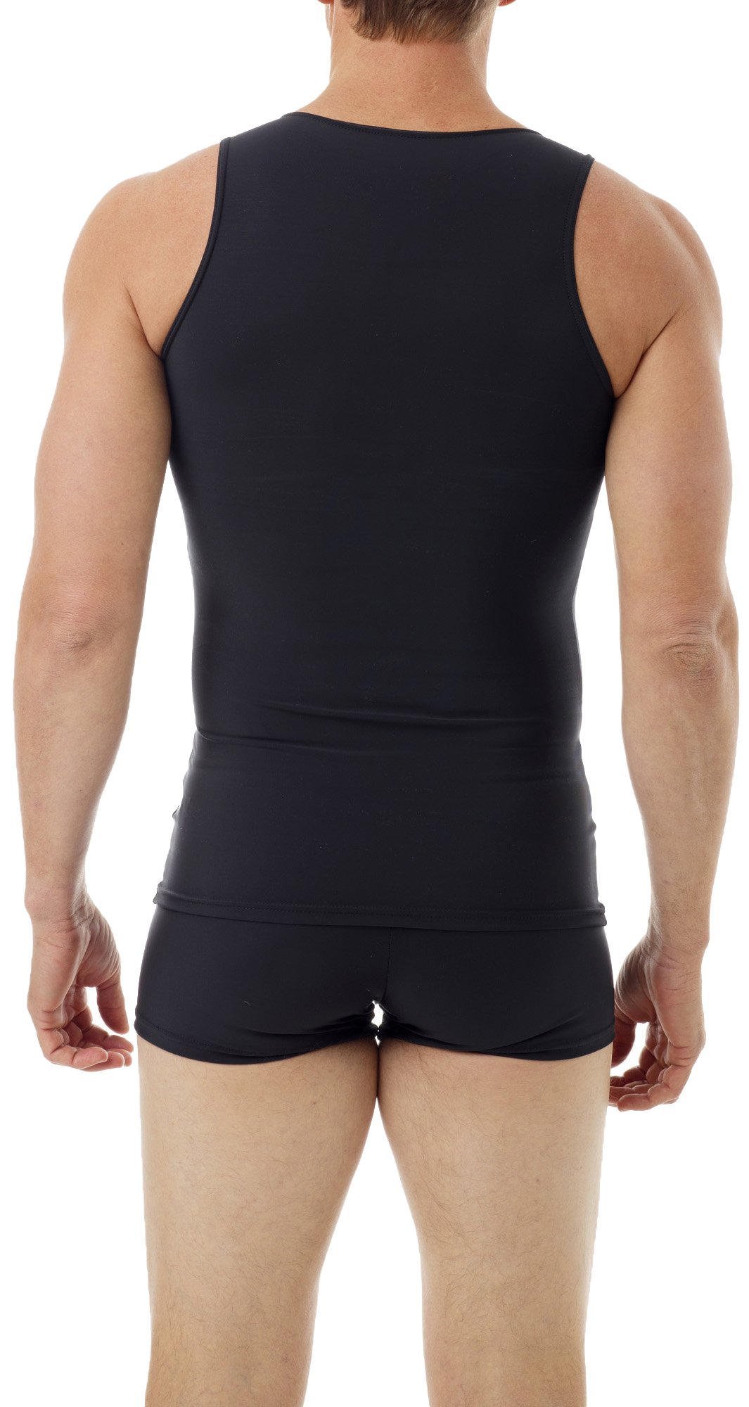 Underworks Mens Microfiber Compression Tank, XSmall, Black by Underworks (Image #2)