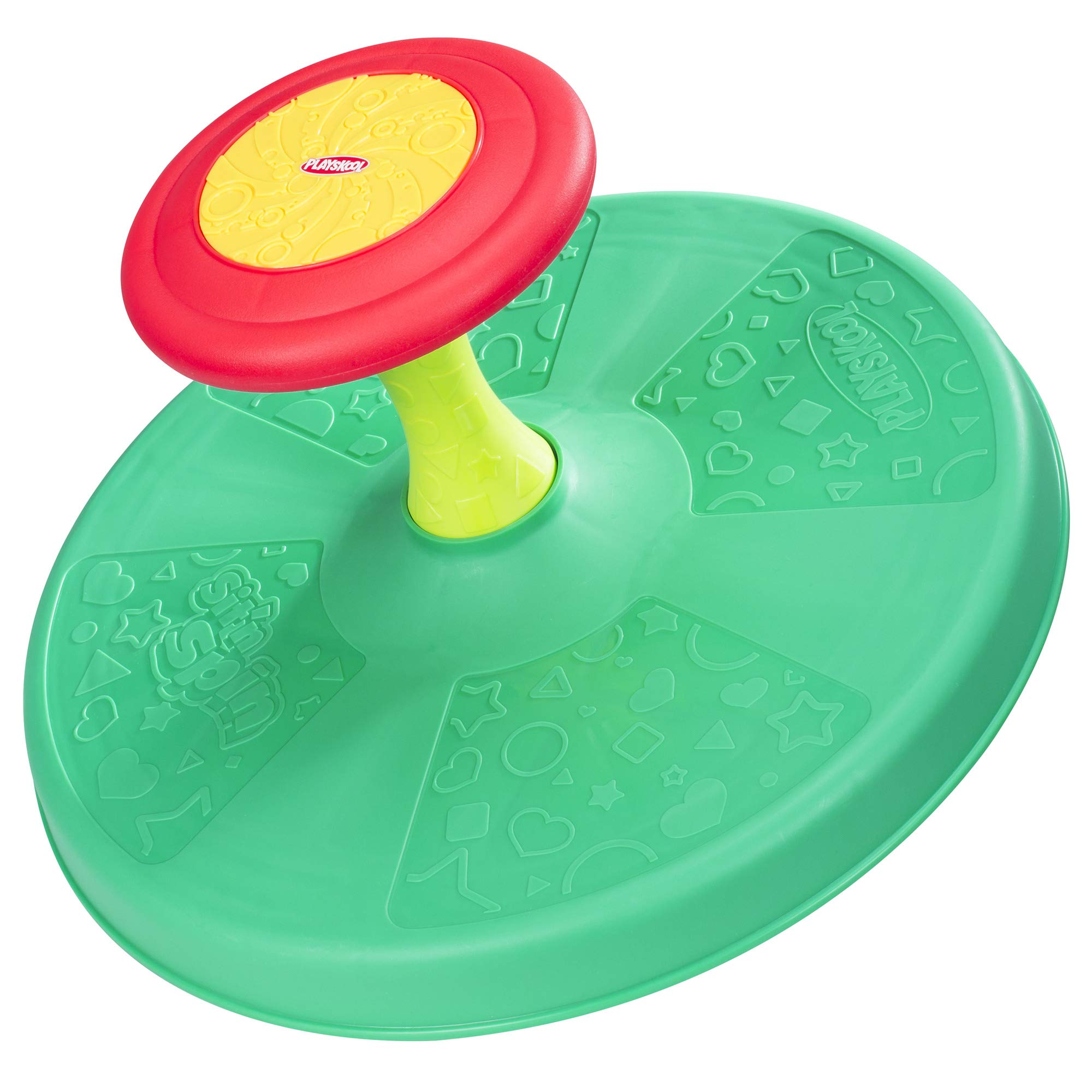 Playskool Sit 'n Spin Classic Spinning Activity Toy for Toddlers Ages Over 18 Months (Amazon Exclusive) Multicolor