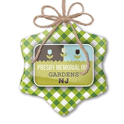 Amazon com: NEONBLOND Christmas Ornament US Gardens Presby