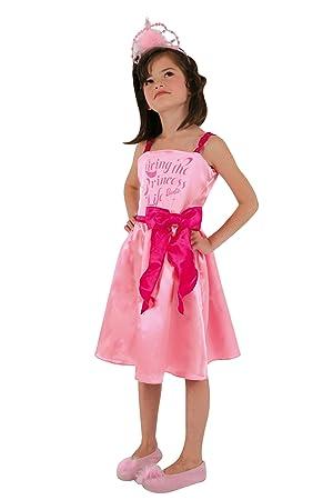 César Mattel C825-003 - Disfraz de Barbie princesa (8-10 años ...