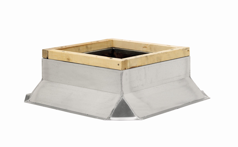 Fantech 5ACC28FS Flat Roof Curb, 28-1/2'' Square x 8'' H by Fantech (Image #1)