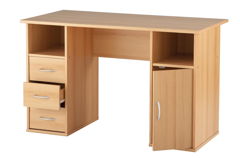 maxam  drawer computer desk amazoncouk kitchen  home -