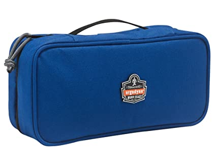 911ddf1621a0 Ergodyne Arsenal 5875 Clamshell Organizer Zippered Pouches, Large, Blue