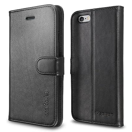 online retailer a4c37 6c0d6 Amazon.com: Spigen Wallet S iPhone 6 Case with Foldable Cover and ...