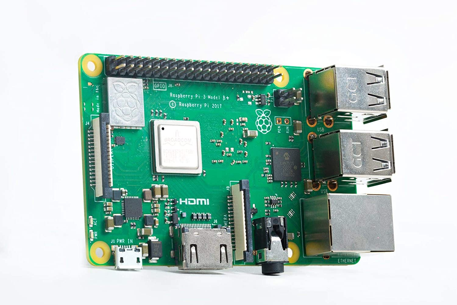 Raspberry PI 3 Model B+ - Placa de Base + 9098132 - Caja de ...