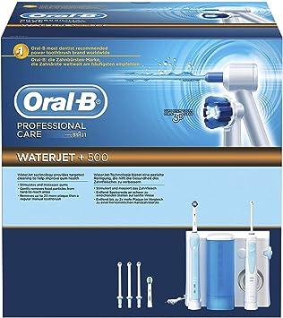 Oral-B Professional Care WaterJet +500 - Pack dental con cepillo ...