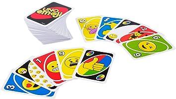 Juegos Mattel Uno Emoji Amazon Es Juguetes Y Juegos
