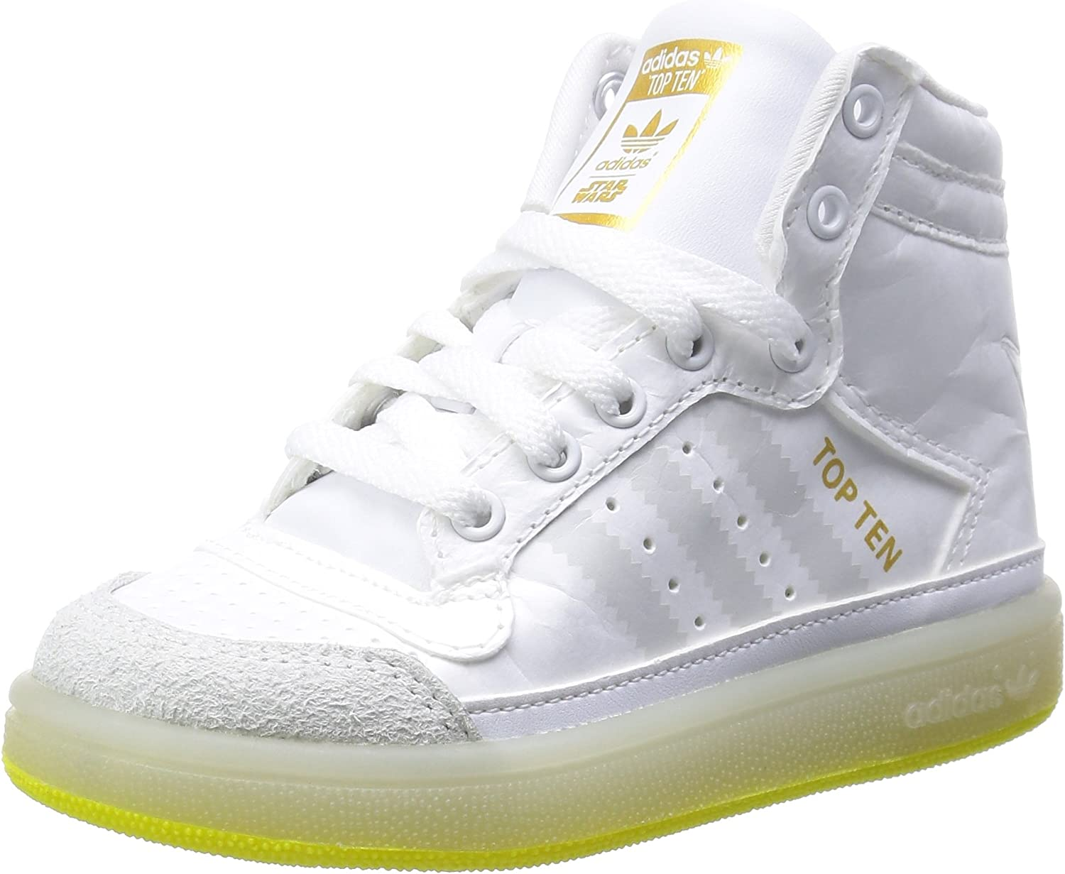 adidas Chaussure montante Top Ten Star Wars Yoda Ftwr