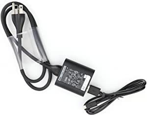 Original Dell 24W OR 10W(Compatibel) Power Adapter With USB Cable For Venue 11 Pro (5130), Venue 11 Pro (7130),Venue 7 (3730),Venue 8 (3830), Venue 8 Pro (5830)