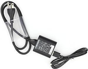 Original Dell 24W OR 10W(Compatibel) Power Adapter With USB Cable For Venue 11 Pro (5130), Venue 11 Pro (7130),Venue 7 (3730),Venue 8 (3830), Venue 8 Pro (5830)
