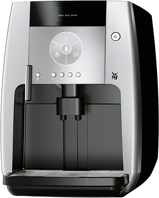 WMF 500 - Cafetera (Negro, Acero inoxidable, Vacío, Granos de café ...
