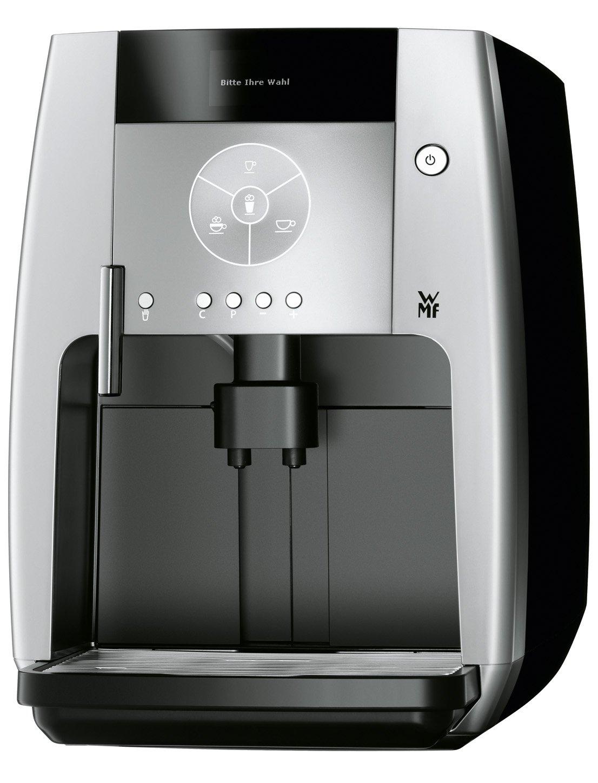 WMF 500 - Cafetera (Negro, Acero inoxidable, Vacío, Granos ...