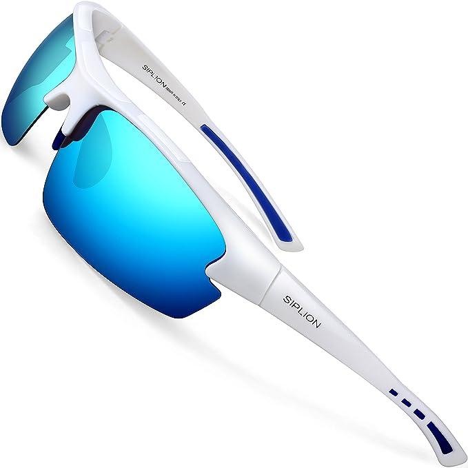 8683937168 SIPLION Hombre Gafas De Sol Polarizado Deportes para Ciclismo Pesca Golf  TR90 Superlight Marco 502 BLUE: Amazon.es: Ropa y accesorios