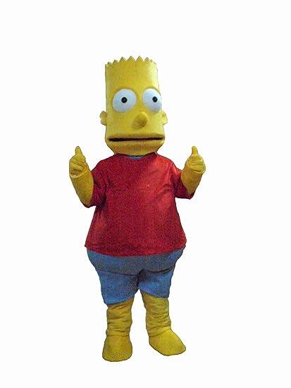The Simpsons Bart Mascota Disfraces Halloween Fancy Dress Outfit - Disfraces-simpsons
