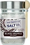 8 oz. Chef's Jar - Authentic Italian Black Truffle Gourmet Sea Salt
