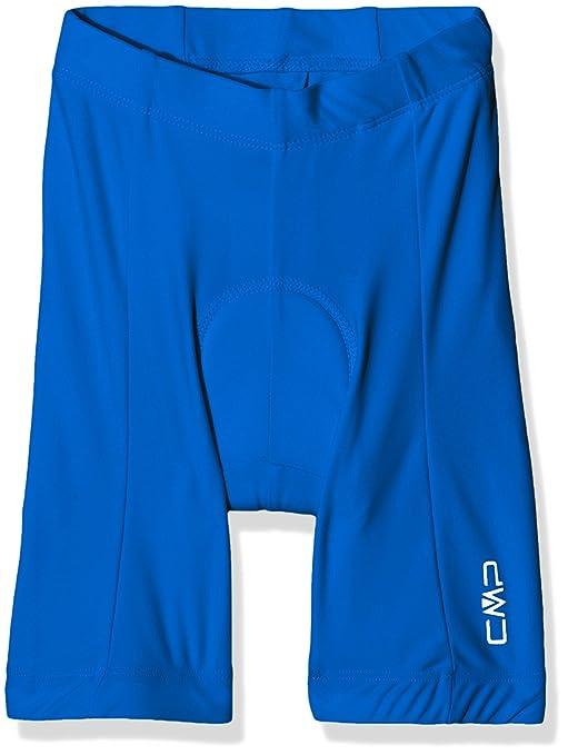 c701d959d77d CMP Rad Hose 3C55404T, Pantaloni Da Ciclismo Bambino, Blu (Zaffiro), 116