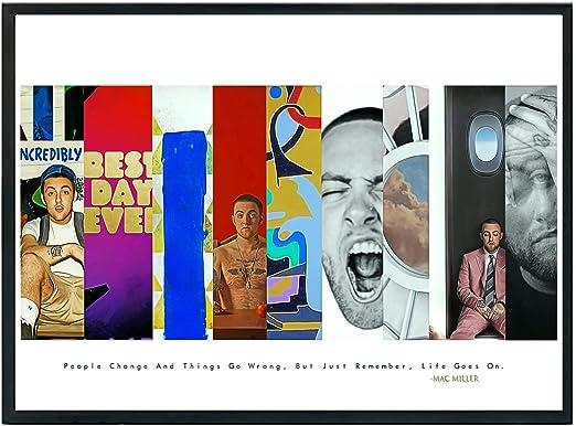 "11 inch MAC MILLER Poster Wall Print 24/"" x 36/"""