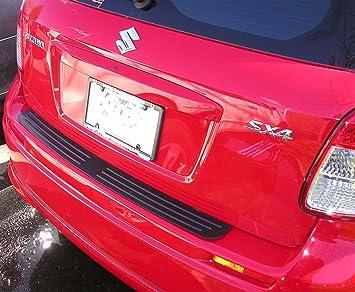 Parachoques trasero superficie Protector funda Compatible con 2007 - 2012 Suzuki SX4 Hatchback: Amazon.es: Coche y moto