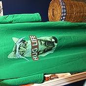 1161833e Amazon.com: Hug Life Kitty Cat Graphic T-Shirt (XXX-Large): Clothing