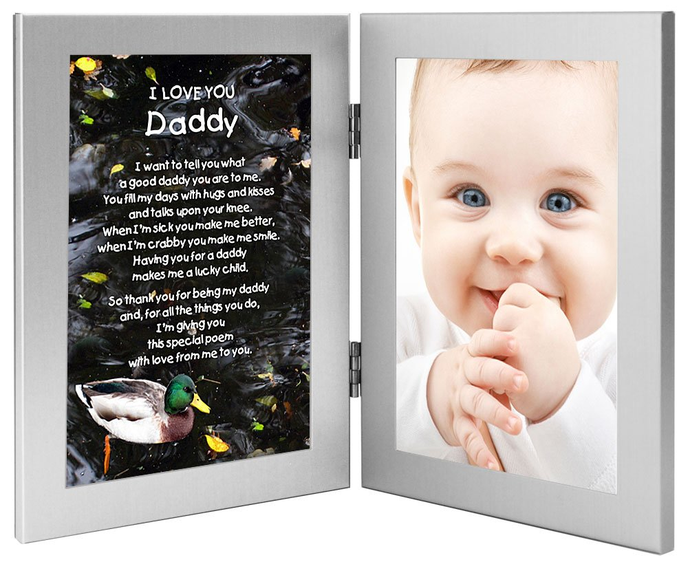 amazoncom daddy gift sweet i love you poem from daughter or son add photo to frame everything else